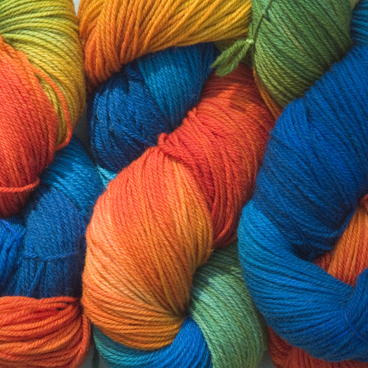 Blue Heron Yarn-Sock Plus-Rainforest