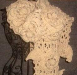 Ravelry: Irish Lace Scarf pattern by Nicky Epstein