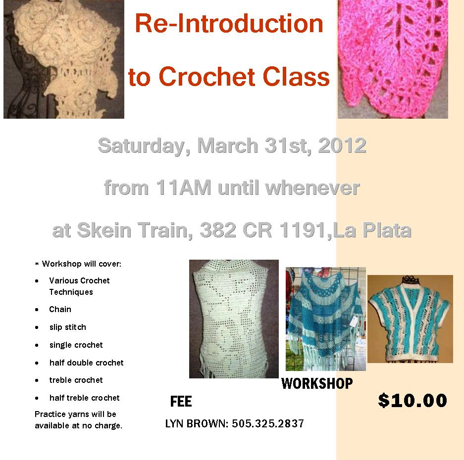 Re-Intro to Crochet Workshop
